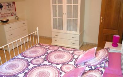 Dormitorio en apartamento de 3 dormitorios